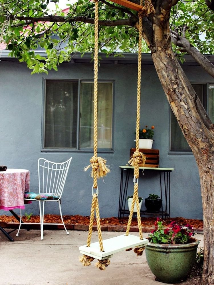 How To Make A Tree Swing & DIY Outdoor Projects - 11 Super Simple Ideas - Bob Vila