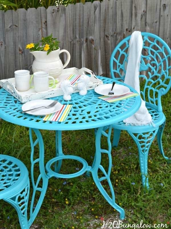 Paint Patio Furniture
