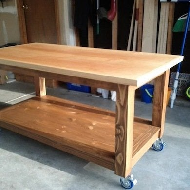 DIY Craft Table Workbench And Potting Table Ideas Bob Vila