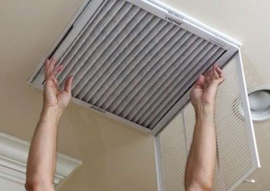 Replacing Air Conditioning Filter