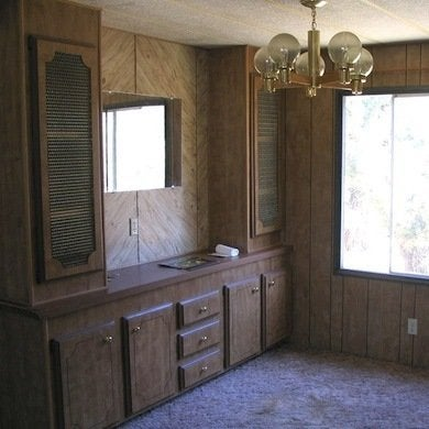 Removing paneling mobile home remodeling 9 totally Paneling makeover ideas