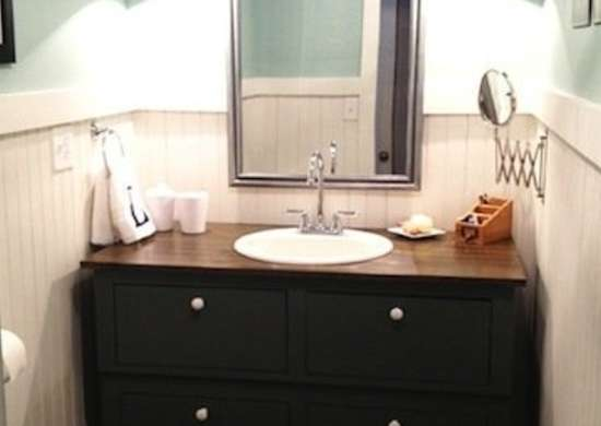 Mobile Home Bathroom Makeover
