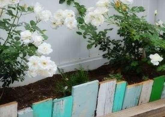 DIY Garden Borders