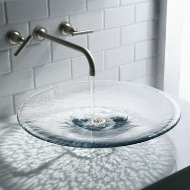 Charmant Glass Sinks
