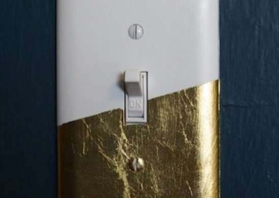 Gold Switch Plate