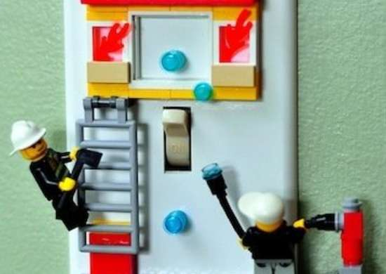 Lego Switch Plate