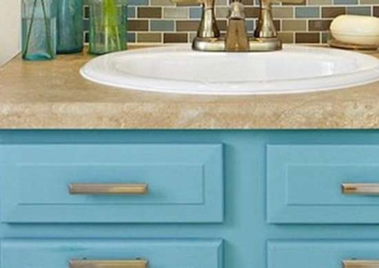 Paint Bathroom Vanity