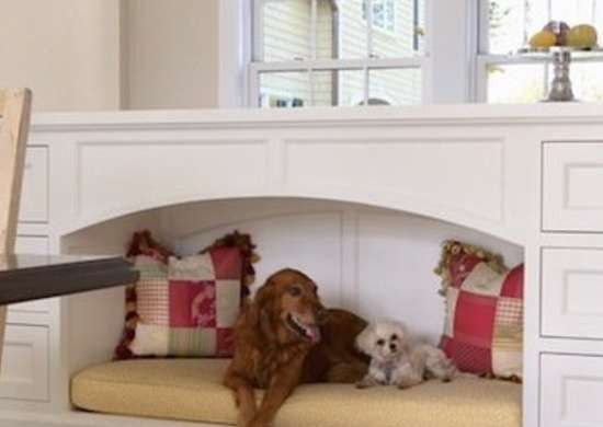 Built-In Dog Bed