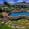 Terraced Poolside