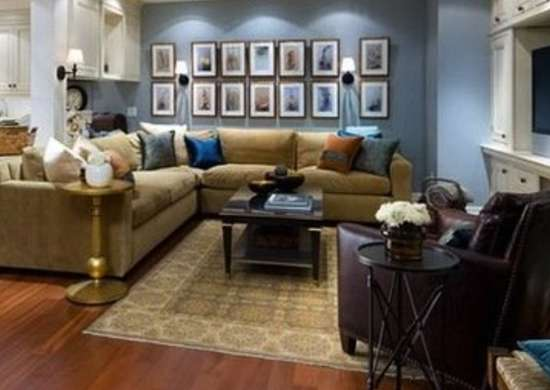 Basement Makeover Ideas Divided Room Basement Makeover  Finished Basement Ideas  10 .