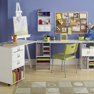 How to organize your desk 11 ideas for the home office - How to organize your desk at home ...