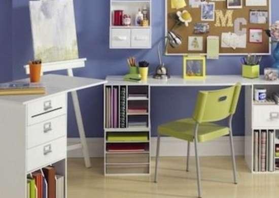 Modular Storage for Desks