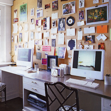 bulletin board behind desk how to organize your desk 11 ideas for