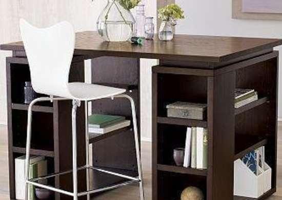 Bookshelves Under Desk