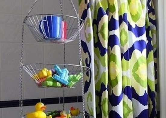 Kids Bathroom Storage
