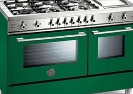 Bertazzoni range 48 inch pro color x48 6g ggv ve