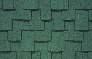 Certainteed augusta green asphalt shingles