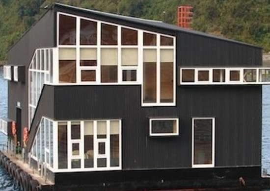 Floating Prefab House