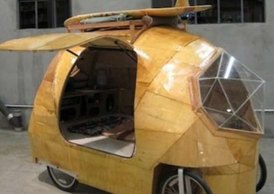 Plywood Mini Camper