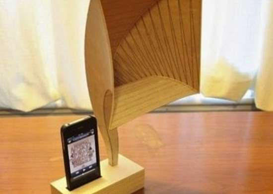 DIY Plywood iPhone Speakers