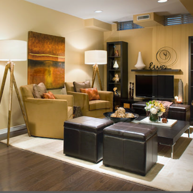 Living-room-basement-makeover