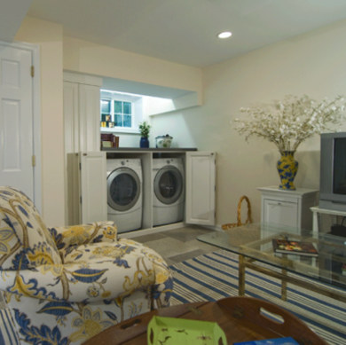 Laundry-room-basement-makeover