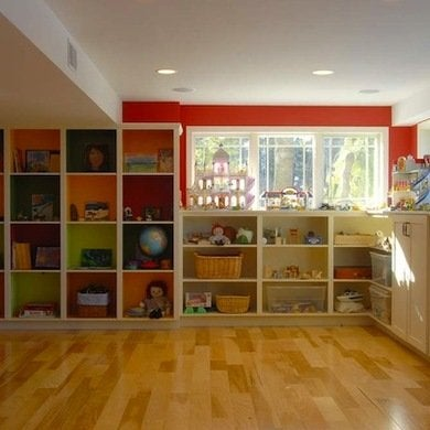 Playroom-basement-makeover