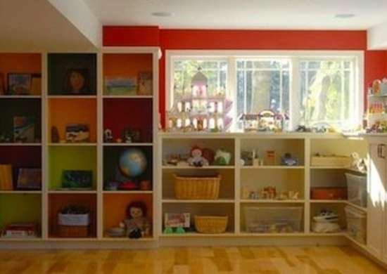 Wonderful Playroom Basement Makeover