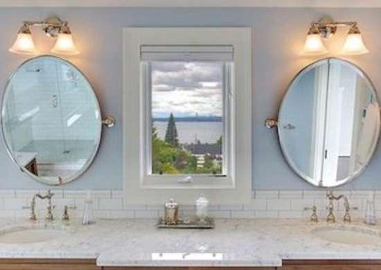 Sky Blue Bathroom