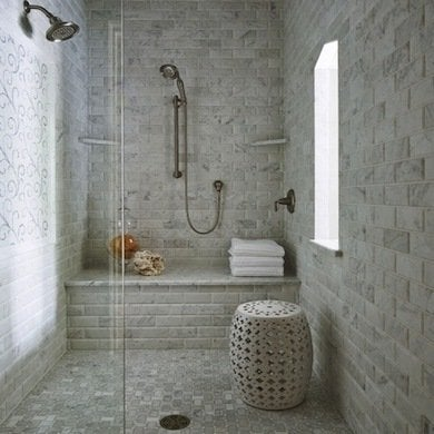 Shower Bench Cool Showers 10 Walk In Showers Bob Vila