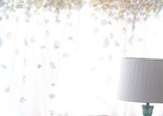 Flower Petal Curtains