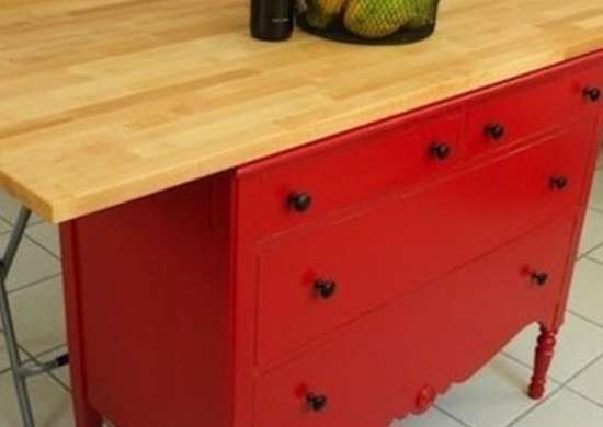 Dresser Kitchen Island