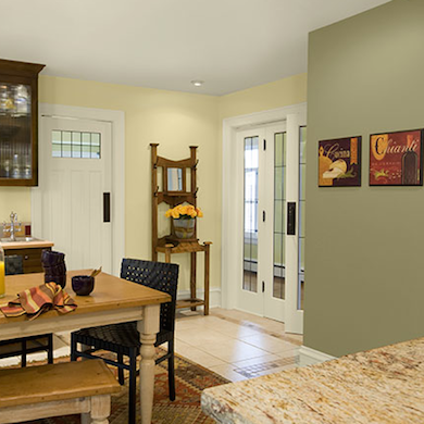 Warm kitchen colors country kitchen ideas 12 design for Country kitchen paint color ideas