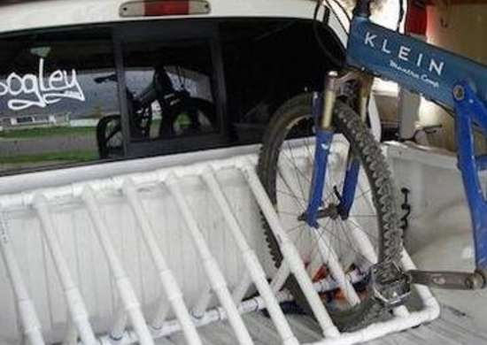 Bike Rack Pvc Projects Inspiring Diy With Plastic