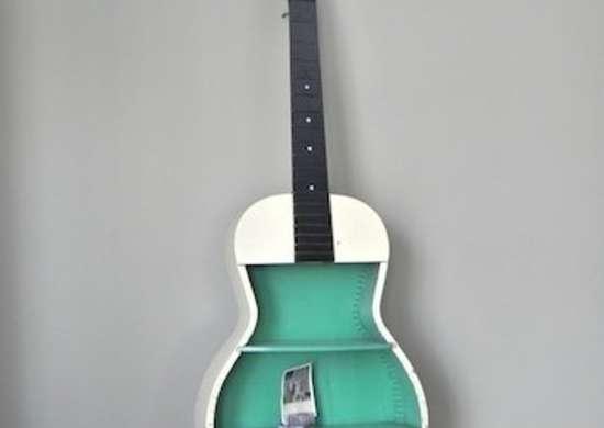 DIY Guitar Shelf