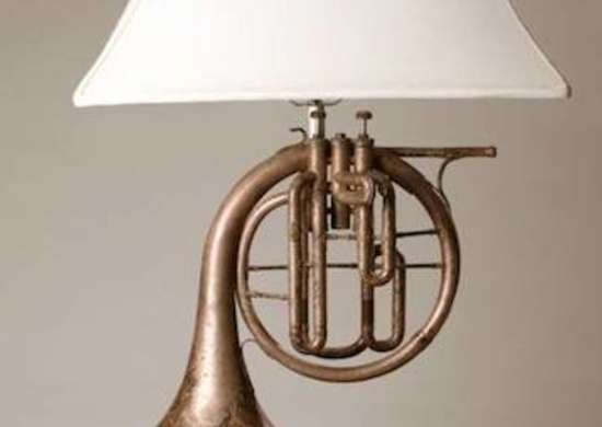 French Horn Lamp