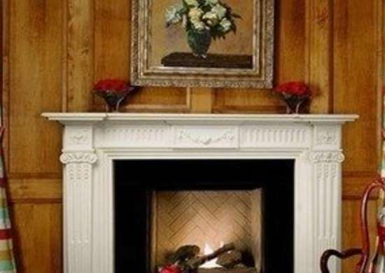 Master Craft English Federal Marble Mantel