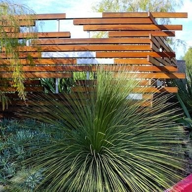 Contemporary fence style