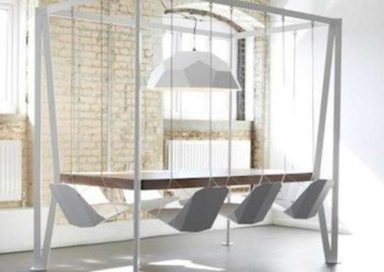 Suspended Dining Set