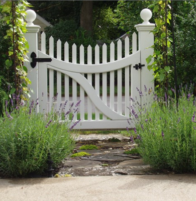 Whether Or Not Your Garden Is Bordered By A Picket Fence, You Can Bring The  Classic Appeal Of This Iconic Design To Any Yard. Simply Sink Two Posts And  Hang ...