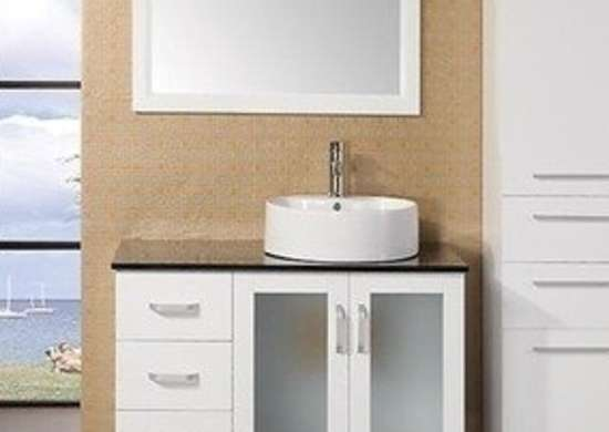 Bathvanityexperts eden single contemporary bathroom vanity