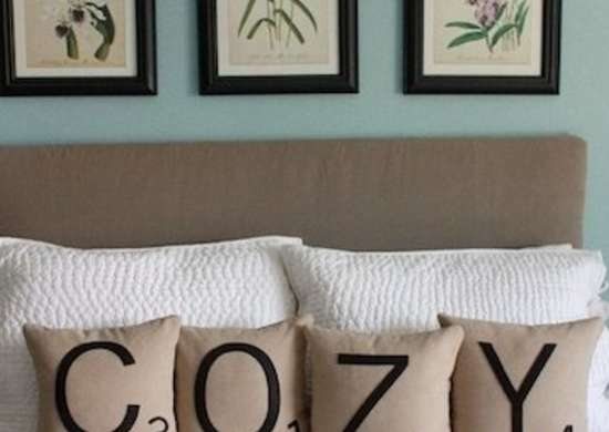 Scrabble Bed Pillows