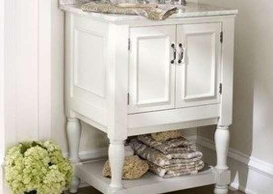newport mini sink console bathroom vanity ideas 12 designs bob vila. Black Bedroom Furniture Sets. Home Design Ideas