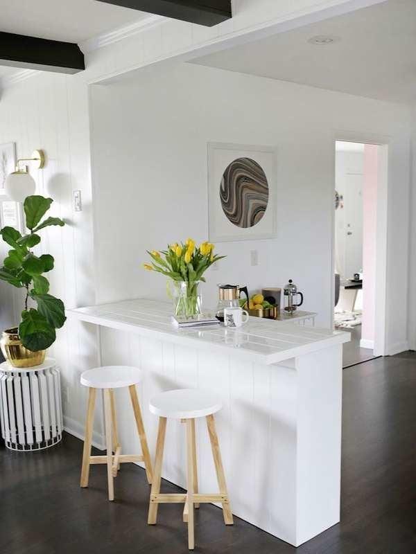 wonderful eat kitchen counter | Eat-In Kitchen Ideas - 15 Space-Smart Designs - Bob Vila
