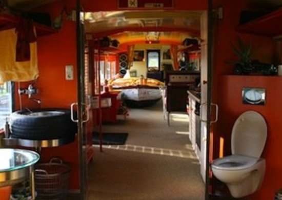 Bed and Breakfast Train