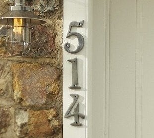 Pottery barn stella house numbers bob vila curb appeal20111123 36322 1d41fs3 0