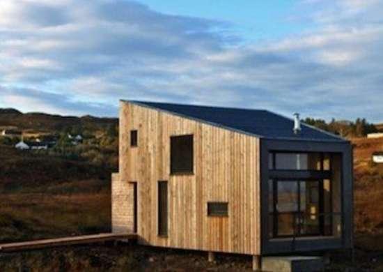 Tiny Wood House