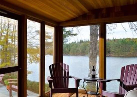 Lake House Porch