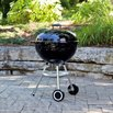 Weber 741001 Silver One-Touch Kettle Grill