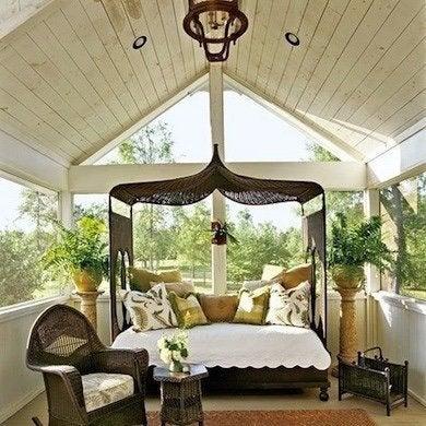 A Frame Porch